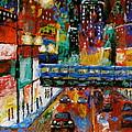 Downtown Friday Night by J Loren Reedy