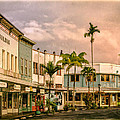 Downtown Hilo Sunday Morning by Dominic Piperata