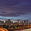Downtown Houston After The Storm by Silvio Ligutti