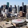 Downtown Houston by Bill Cobb