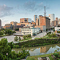 Downtown Houston From Uh-d. September by Silvio Ligutti