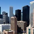 Downtown Houston Texas by Bill Cobb