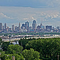 Downtown Kansas City From The Northland by Devin Botkins