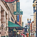 Downtown Knoxville by Sharon Popek