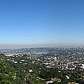 Downtown La From Griffith Observatory by Peter Awax