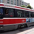 Downtown Light Rail Toronto Ontario by Bill Cobb