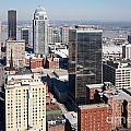 Downtown Louisville Kentucky by Bill Cobb