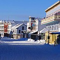 Downtown Mackinac In The Early Morning by Keith Stokes