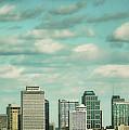 Downtown Nashville After Sunrise by Jai Johnson