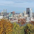 Downtown Pittsburgh From Mount Washington 4 by Cityscape Photography
