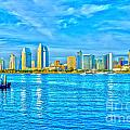 Downtown San Diego by Baywest Imaging