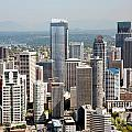 Downtown Seattle by Bill Cobb