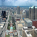 Downtown St. Louis by Thomas Woolworth
