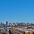 Downtown Tacoma View From The Rail Lines by Tikvah's Hope