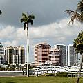 Downtown West Palm Beach by Bill Cobb