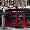 Doyles The Times We Live Inn - Dublin Ireland by Bill Cannon