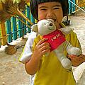 Dq Bear Lover At Baan Konn Soong School In Sukhothai-thailand by Ruth Hager