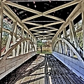 Dr. Knisely Covered Bridge by Suzanne Stout