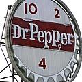 Dr. Pepper Illuminated Landmark Sign by Jennifer Lamanca Kaufman