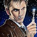 Dr Who #10 - David Tennant by Tom Carlton