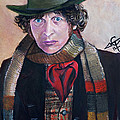 Dr Who #4 - Tom Baker by Tom Carlton