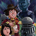 Dr Who 4th Doctor Jelly Baby by Martin Davey