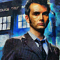 Dr Who Number 10  by Janice MacLellan