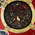Dragon At The Senso-ji Temple by For Ninety One Days