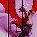 Dragon Power-featured In Comfortable Art Group by Ericamaxine Price