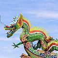 Dragon Sculpture by Tosporn Preede