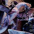 Dragon Slayer Attack Dragon by Stanley Morganstein