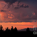 Dragonfire Sunset - Mt. Spokane Wa by Craig Dykstra