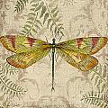 Dragonfly Daydreams-a by Jean Plout