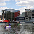 Dragoon Boats - Baltimore Inner Harbor by Christiane Schulze Art And Photography