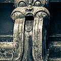 Drainage Ornament On Hindu Seetha Amman Temple In City Seetha Eliya by Inez Wijker