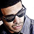 Drake Artwork 1 by Sheraz A