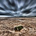 Drama At Freshwater West by Steve Purnell