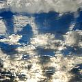 Drama Cloud Sunset I by Kathy Sampson