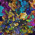 Dramatic Blooms 01 by Jo-Anne Gazo-McKim