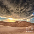 Dramatic Clouds Over The Sand Dunes by Mimi Ditchie