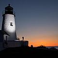 Dramatic Lighthouse Sunrise by Kyle Lee