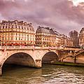 Dramatic Parisian Sky by Pati Photography