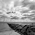 Dramatic Sky At Penfield Jetty by Stephanie McDowell