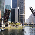 Draw Bridges Of Chicago by Alexey Stiop