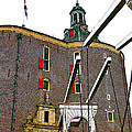 Drawbridge And Tower In Enkhuizen-netherlands by Ruth Hager