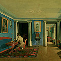 Drawing Room With Columned Entresol  by Kapiton Alekseevich Zelentsov