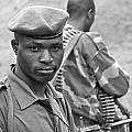 Drc Defense Force Soldier by Bob Parr