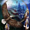 Dream Catcher - Freedom's Flight by Carol Cavalaris