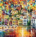 Dream Harbor by Leonid Afremov