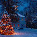 Christmas At The Richmond Round Church by Jeff Folger